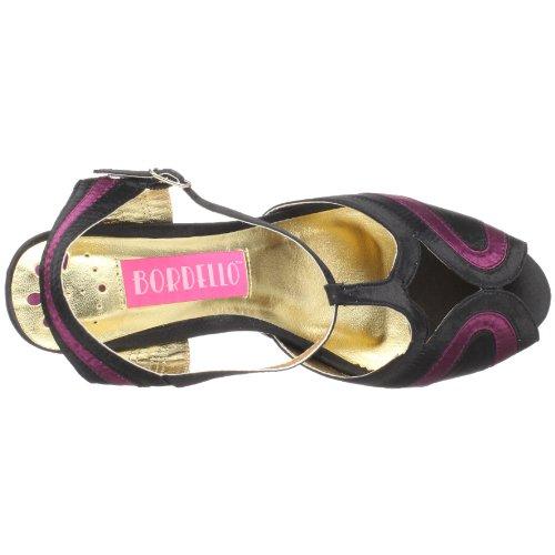 Pleaser Women's Asp608/C-B/C Platform Sandal Clr/B. Pink Chrome NkrWFD9