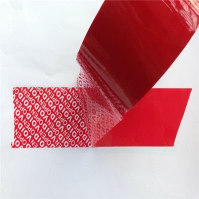 StickersLab Tamper Proof Tape 25 / 50 mm x 50 m (Red)