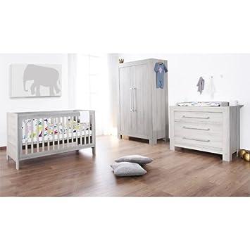 Pinolino Kinderzimmer Somnio Breit, 3 Teilig, Kinderbett (140 X 70 Cm)