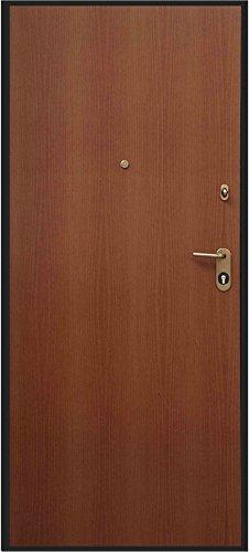 Portone Blindato Portoncino   Defender   Colore Noce, H 210 X L 90