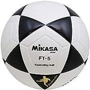 Bola de Futevôlei FT-5 Preto e Branco, Mikasa