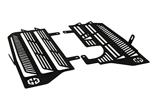 Motorcycle Radiator Guards - GoGravel Radiator Guards for Motorcycle HONDA Africa Twin CRF1000L (Made In South Africa)