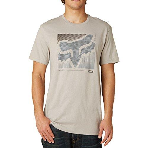 Fox Racing Mens Reliever Premium Short-Sleeve Shirt Large Stone (Stones Racing Fox)
