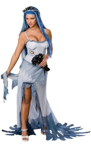 Secret Wishes Women's Corpse Bride Adult Costume, Multicolor, Small