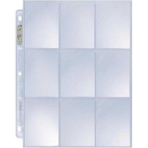 (Ultra Pro Platinum Series Hologram 9-Pocket Pages (50))