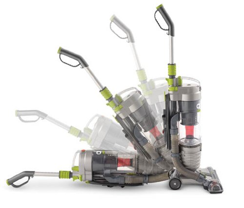 Hoover WindTunnel Air Bagless Upright Corded Lightweight Vacuum Cleaner - all angles