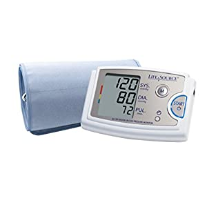 LifeSource Premium Upper Arm Blood Pressure Monitor with XL Cuff (UA-789AC)