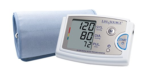 Arm Circumference Upper - LifeSource Pro Blood Pressure Monitor with XL Cuff (UA-789AC)