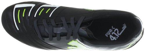 Puma - Botas de deportivo para hombre, tamaño 48.5, color metallic azul-b Schwarz (black-dark shadow-white-lime punch 02) (Schwarz (black-dark shadow-white-lime punch 02))