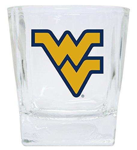 WEST VIRGINIA 12OZ SHORT GLASS SET-WEST VIRGINIA DRINK GLASSES-SET OF 2