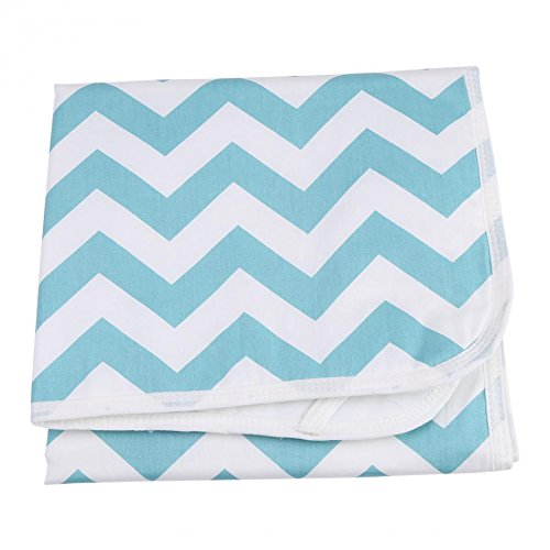KIDSONE Portable Baby Diaper Changing Pad H, 35x45cm Breathable Waterproof Underpads Changing Mat for Baby Boys Girls