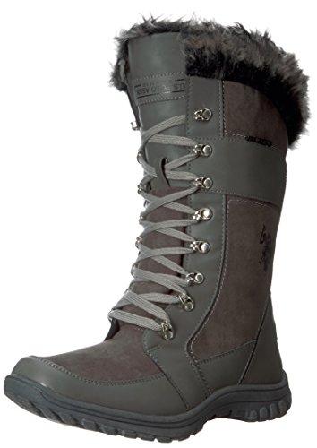 U.S. Polo Assn.(Women's) Women's Valley Fashion Boot, Dark Grey, 7 M - Polo Boots.com