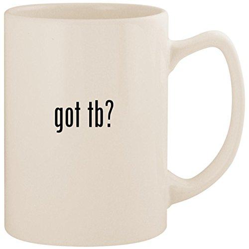got Tb? - White 14oz Ceramic Statesman Coffee Mug Cup