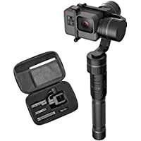 Hohem 3 Axis Handheld Gimbal Stabilizer for Gopro HERO 5/4/3+/3, Yi Cam 4K, AEE Sports Cams