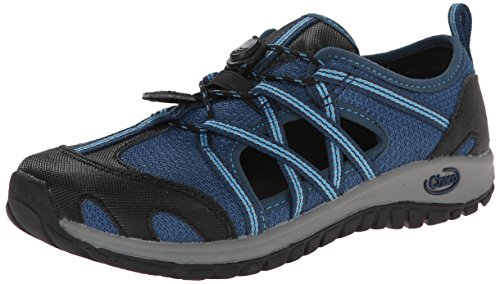 Chaco Outcross Kids Shoe (Little Kid/Big Kid), Blue Moon, 2 M US Little Kid