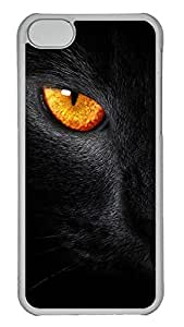 iPhone 5C Case Black Panther PC iPhone 5C Case Cover Transparent