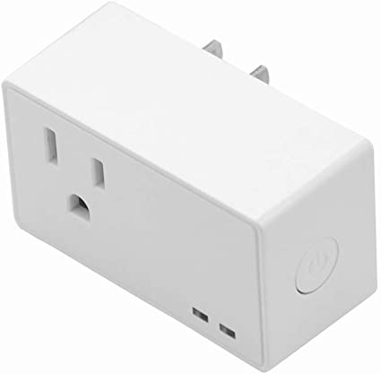 Smart WiFi Power Socket US Plug Switch For Amazon Alexa//Google Home App Control