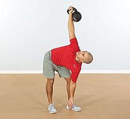 Perform Better First Place Gravity Cast Iron Kettlebell, 56 kg