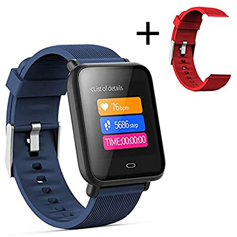 Amazon.com: HX0945 Smart Watch Q9 Blood Pressure Heart Rate ...