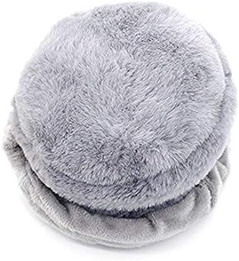 Goodbag Unisex Winter Warm Fleece Earmuffs Cute Compact Foldable Ear Warmers Earcap Outdoor Soft Plush Ear Muff