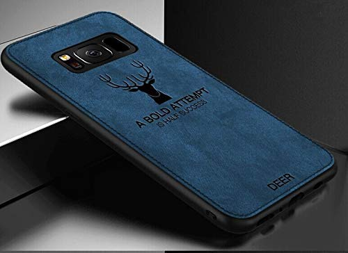 COVERS WALE Back Cover for Samsung Galaxy S8 TPU,Blue