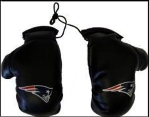 Fremont Die NFL New England Patriots Unisex NFL Mini Boxing Glovesnfl Mini Boxing Gloves, Team Logo/Colors, 4