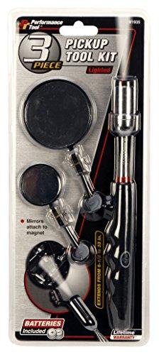 Performance Tool W1935 8 lb) Lighted Pickup Tool Kit -