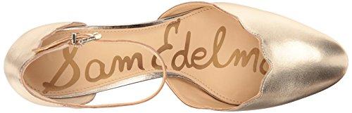 Sam Edelman Women's Lara Pump Molten Gold 8W25l6W6