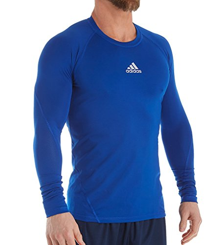 adidas Training Alphaskin Sport Long Sleeve Tee, Collegiate Royal, Large