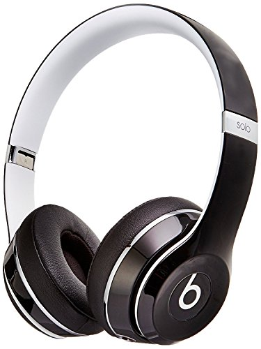 Beats Solo 2 WIRED On-Ear Headphones Luxe Edition NOT WIRELESS - Black (Certified Refurbished)