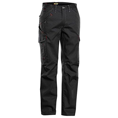 Blakläder 140318009900D112 Pantalon Cargo Taille D112 Noir