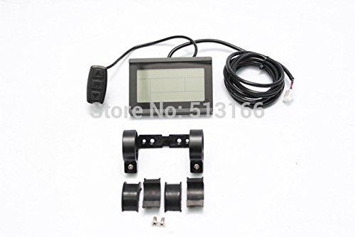 24V 36V 48V ebike intelligent LCD Control Panel LCD Display for our 24V 36V 48V Controller