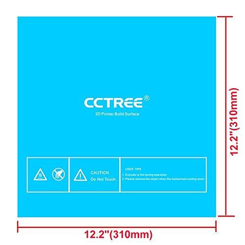 Cctree 3d Printer Build Surface With 3m Sticker 3d Printer
