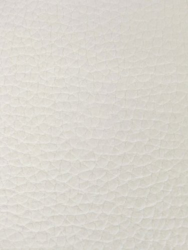 Wide Leather Vinyl White Fabric