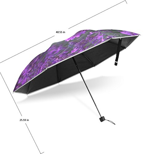 jstel lavender garden windproof waterproof compact travel umbrella anti uv protective canopy. Black Bedroom Furniture Sets. Home Design Ideas
