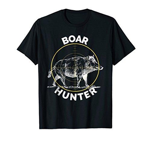 Boar Hunter Hog Hunting Sight T-Shirt Wild Pig Tee Shirt