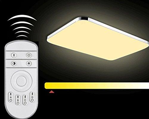 Plafoniera led watt lampada luminosità regolabile camera da