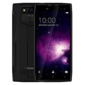 DOOGEE S50 6GB+128GB 5.7 inch Android 7.1 MTK Helio P23 Octa Core up to 2.5GHz GSM & WCDMA & FDD-LTE (Black)