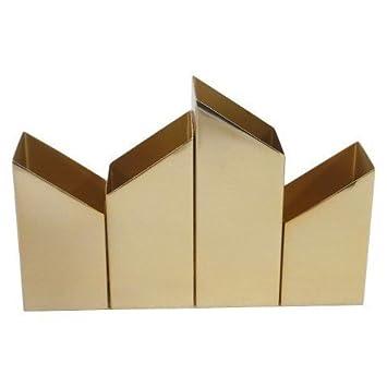 Nate Berkus Gold Desktop Organizer (Pack 1)