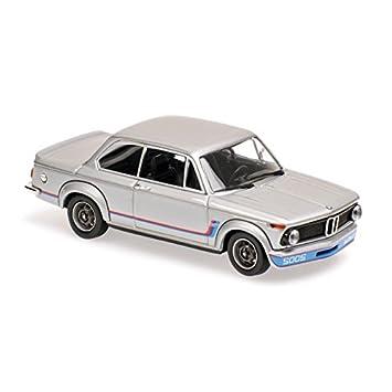 "Minichamps 940022200 Maxichamps 1:43 Silver BMW 2002 Turbo 1973"" Modelo coche"