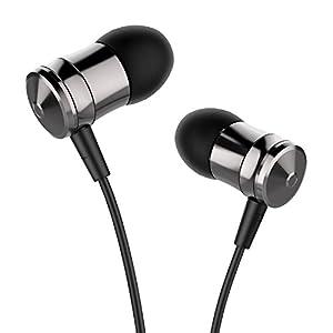 Earbuds, AILIHEN M10 Metal in Ear Headphones with Microphone Earphones for IOS Tablets Laptop Android Smartphones