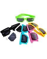 Pixelated Sunglasses Robot Sunglasses 1 Dozen