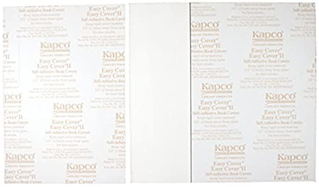 Pack of 5 12 x 9 KAPCO EF1212 Easy Cover Book Cover II