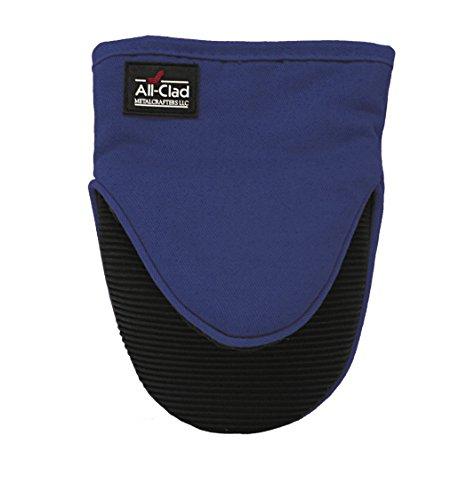 All-Clad Textiles Professional Silicone Grabber Mitt, Cobalt Blue