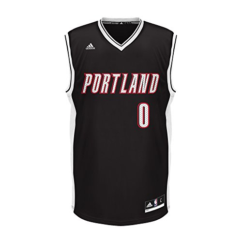 NBA Portland Trail Blazers Adult Men Chevron Fashion Replica Jersey, Large, - Portland Fashion Mens
