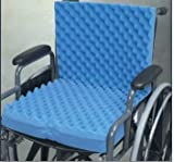 Egg Carton for Bed Eggcrate Wheelchair Cushion with Back 18 x32 x3