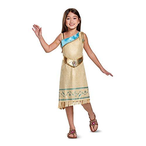 Pocahontas Deluxe Costume, Brown, Medium (Halloween Costumes Pocahontas)