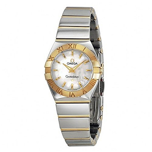 Omega Constellation Mother of Pearl Dial Stainless Steel and Gold Ladies Watch 123.20.24.60.05.004