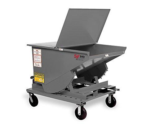 (Meco All-Welded Self-Dumping Steel Hoppers - Light-Duty - 12-Gauge Steel - 53