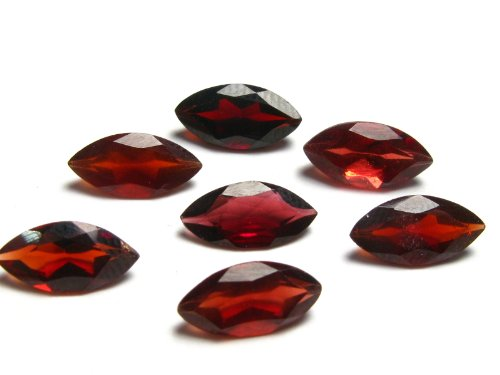 One (1) Almandine Garnet Cut Facetted Gem From Brazil - 1.2-1.4 Carats